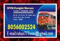 NVM Freight Movers | 8056002524 | Chennai Rly. Clearing Agency | 1028 | Since 1979